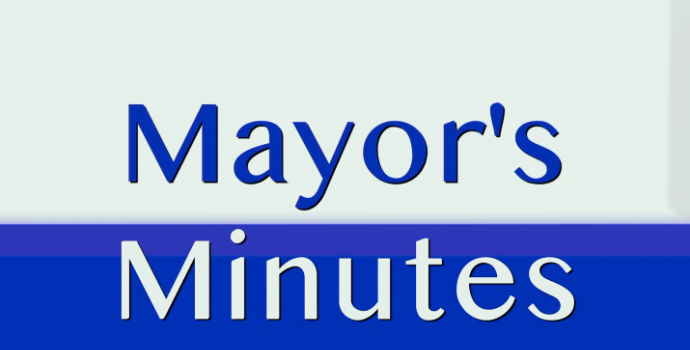 Mayor's Minutes