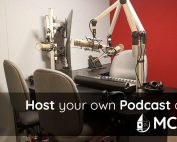 Host Your Own Podcast at MCS